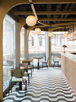 Locket's | Café interiors | Fran Hickman