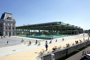 Oostende Station | Infrastructure buildings | Dietmar Feichtinger Architectes