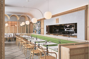 Oxalis Restaurant | Restaurant interiors | Sò Studio