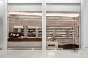 Aesop World Trade Center | Shop interiors | Architensions