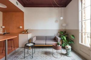 Klinker Apartment | Living space | CaSA - Colombo and Serboli Architecture