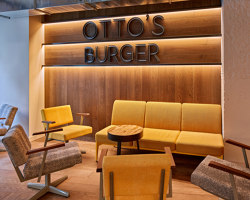 Otto's Burger Cologne | Restaurant interiors | Studio Modijefsky