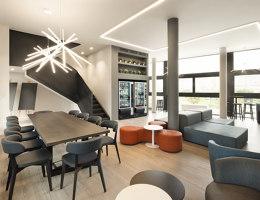 Campus Certosa | Hotel interiors | Giuseppe Tortato