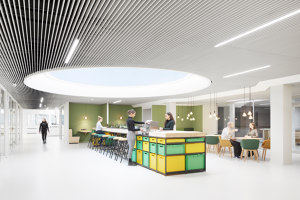DSGV Newsroom | Office facilities | KINZO Design Studio