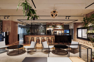 TBWA\HAKUHODO office | Office facilities | Canuch