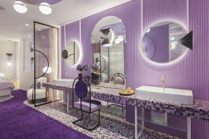 Violet BlissSuite | Diseño de hoteles | In Out Studio