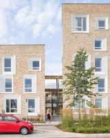 Key Worker Housing University of Cambridge | Case bifamiliari | Mecanoo