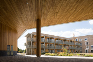 Key Worker Housing University of Cambridge | Adosados | Mecanoo