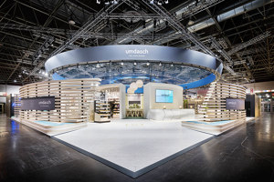 umdasch – The Store Makers exhibition stand at EuroShop 2020 | Trade fair stands | DOBAS AG