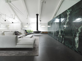 DLN Penthouse | Living space | GEZA Gri e Zucchi Architettura