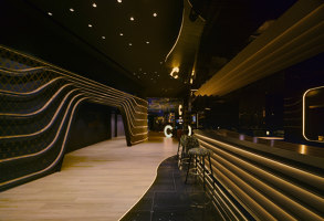 Hotel 5*, restaurants and nightclub  in Badajoz | Bar interiors | Clavel Arquitectos