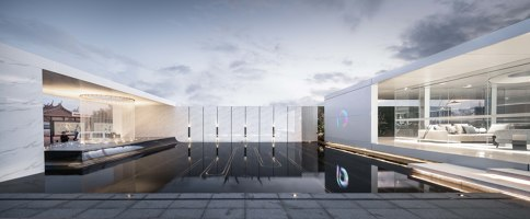 Poly futuristic modular boxes | Shopping centres | HYP-ARCH Design