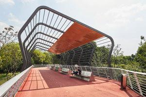 Jiangyin Greenway Loop | Bridges | BAU Brearley Architects + Urbanists