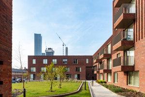 Hulme Living Leaf Street Housing | Apartment blocks | Mecanoo