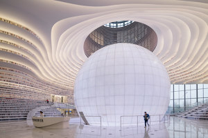 Tianjin Binhai Library | Office facilities | MVRDV