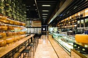 SPAZIO FORME – Parmigiano Reggiano Experience Store | Restaurant interiors | LAI STUDIO, Maurizio Lai
