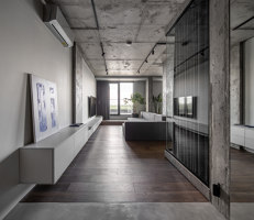 Rybalsky Apartment | Living space | FILD Design Thinking Company