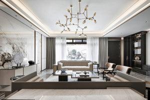 Hangzhou Boee · Hufeng Courtyard Model Villa | Living space | GFD