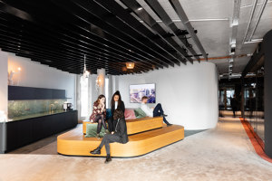 Hines German HQ | Office facilities | KINZO Design Studio