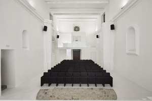 Restoration and Transformation of Saint Rocco's Church into a Theatre | Theatres | Luigi Valente + Mauro Di Bona