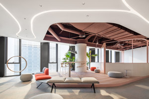 Office of New Silk Road E-Commerce Company | Office facilities | HONG Designworks