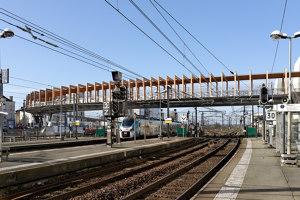 Passerelle Angers TGV Saint Laud | Bridges | Dietmar Feichtinger Architectes