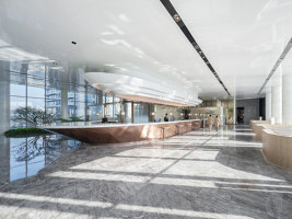 InterContinental Chongqing Raffles City & L42 Residential Clubhouse | Hotel-Interieurs | CL3
