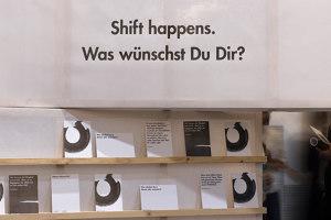 shift happens | Trade fair stands | 22quadrat