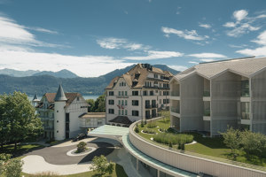 Chenot Palace Weggis Health Wellness Hotel | Hotels | Davide Macullo Architects