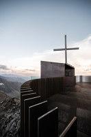 Ötzi Peak 3251m | Monuments/sculptures/viewing platforms | noa* network of architecture