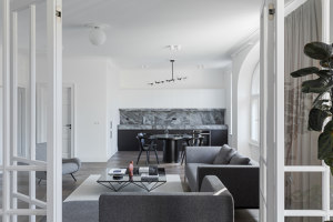 Apartment in Slokas street, Riga | Living space | AKTA