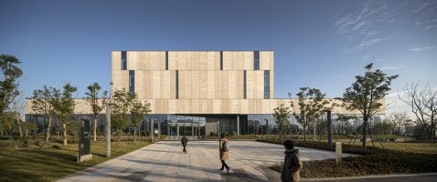 Ningbo New Library | Office buildings | Schmidt Hammer Lassen Architects