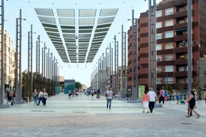 Rambla de Sants Gardens | Manufacturer references | URBIDERMIS SANTA & COLE