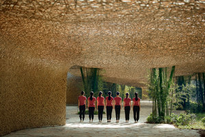 """Bamboo Bamboo, Canopy and Pavilions, Impression Sanjie Liu 