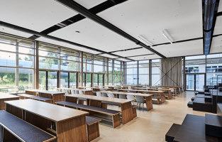 Viessmann Allendorf staff restaurant | Restaurant interiors | blocher partners