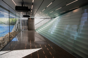 The TWIST - Kistefos Museum - glas staircase | Manufacturer references | Siller Treppen