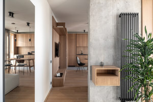 Zarichnyy Apartment | Living space | FILD Design Thinking Company