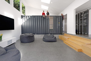 The Wyss Family Container House | Living space | Paul Michael Davis Architects