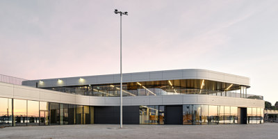 New Cruise Terminal Kiel | Infrastructure buildings | einszueins architektur