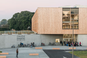 Collège Simone Veil | Escuelas | Dietrich Untertrifaller Architects