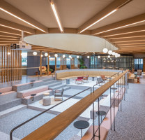 Social Space in Jing'an Kerry Centre | Office facilities | Linehouse