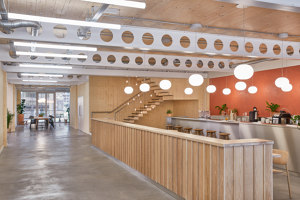 6 Orsman Road Workspace | Office facilities | Waugh Thistleton Architects + Storey