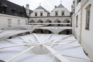 Innenhofüberdachung Schloss Weitra | Manufacturer references | Koch Membranen