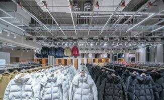 Descente Blanc Beijing | Diseño de tiendas | Schemata Architects + Jo Nagasaka