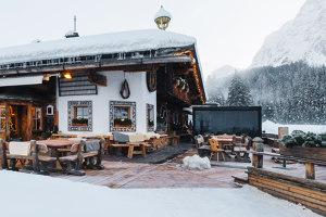 Per il ristorante Mondschein, una Brera sulla neve delle Dolomiti | Manufacturer references | Pratic
