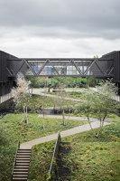 Léonard de Vinci Technical College   Universities   TANK Architectes + COSA