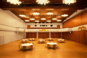 Restoration Vaduzersaal   Club interiors   lightsphere