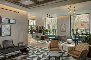 DoubleTree by Hilton Rome Monti | Hotel interiors | THDP