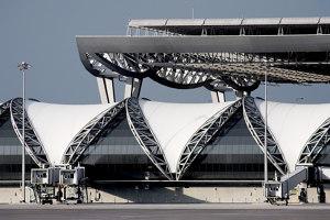 Passenger Terminal Complex Suvarnabhumi Airport | Infrastructure buildings | Jahn