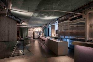 Langstrasse Hiltl | Restaurant interiors | Atelier ushitamborriello Innenarchitektur_Szenenbild